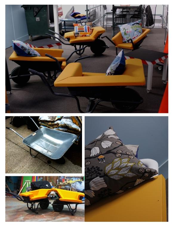 Wheelbarrow Chairs etc